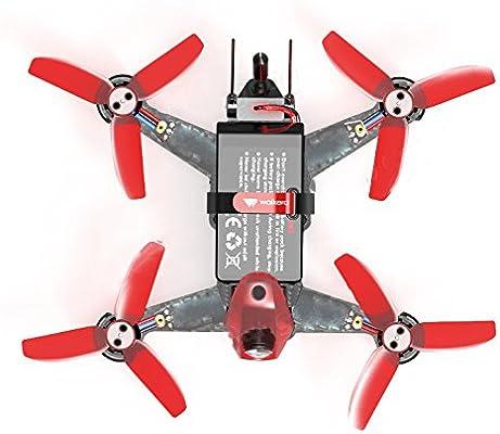 Walkera Rodeo 110 Drone con cámara 600TVL, Negro/Rojo: Amazon.es ...