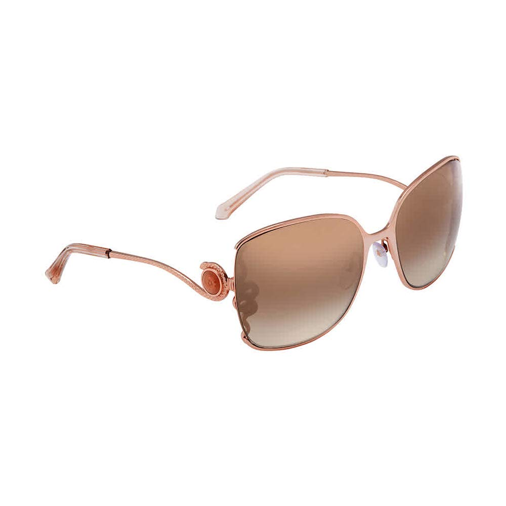 28G E Roberto Cavalli GOLD//BROWN SHADED metal 61//20//140 Geometric WASAT RC 1012 women