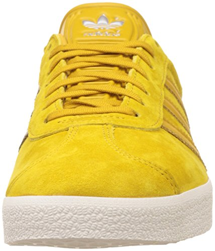 adidas - Zapatillas de Piel para hombre amarillo amarillo
