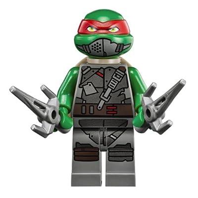 Lego Teenage Mutant Ninja Turtles Armored Raphael Minifigure: Toys & Games