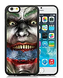 Funny and Easy Use Case Joker Batman Games iphone 6 4.7 inch TPU case in Black