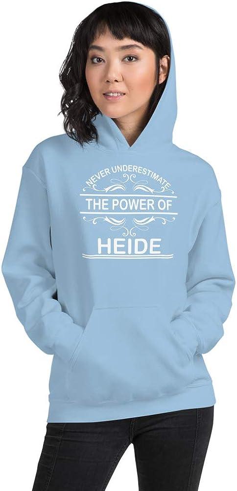 Never Underestimate The Power of Heide PF Light Blue