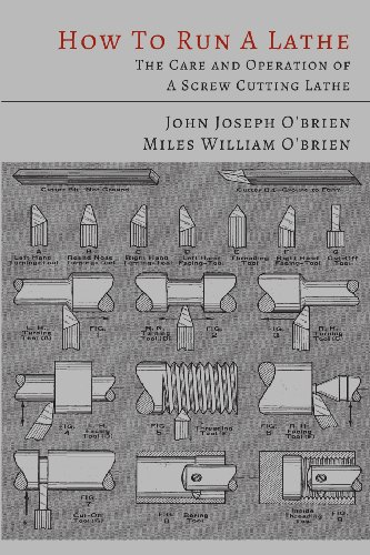 How to Run a Lathe: The Care and Operation of a Screw Cutting Lathe [John Joseph O'Brien - Miles William O'Brien - South Bend Lathe Works] (Tapa Blanda)