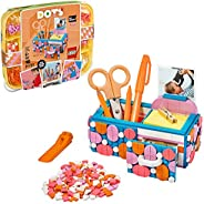 LEGO DOTS Desk Organizer 41907 DIY Craft Decorations Kit for Kids who Like Designing and Redesigning Their Own