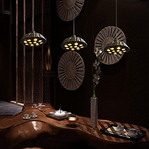 continental-living-room-of-2016-new-creative-zen-lotus-root-restaurant-villa-art-chandelier-pendant-