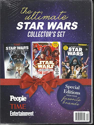 THE ULTIMATE STAR WARS COLLECTOR'S SET SPECIAL EDITIONS, 2017 3 SETS OF PEOPLE * TIME & ENTERTAINMENT WEEKLY BRAND NEW IN ORIGINAL PACKING ( PLEASE NOTE :: ALL THESE MAGAZINES -