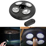 Garden umbrella tent sun umbrella illuminator lamp 27 Leds light outdoor hiking night light with IR remote control