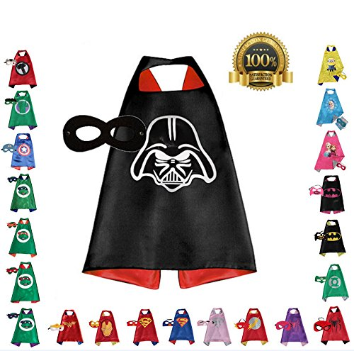 [Super hero Cape and Mask, Children, Boys, Girls Dress Up Costume, Birthday Party] (Halloween Costumes Ideas For Newborns)