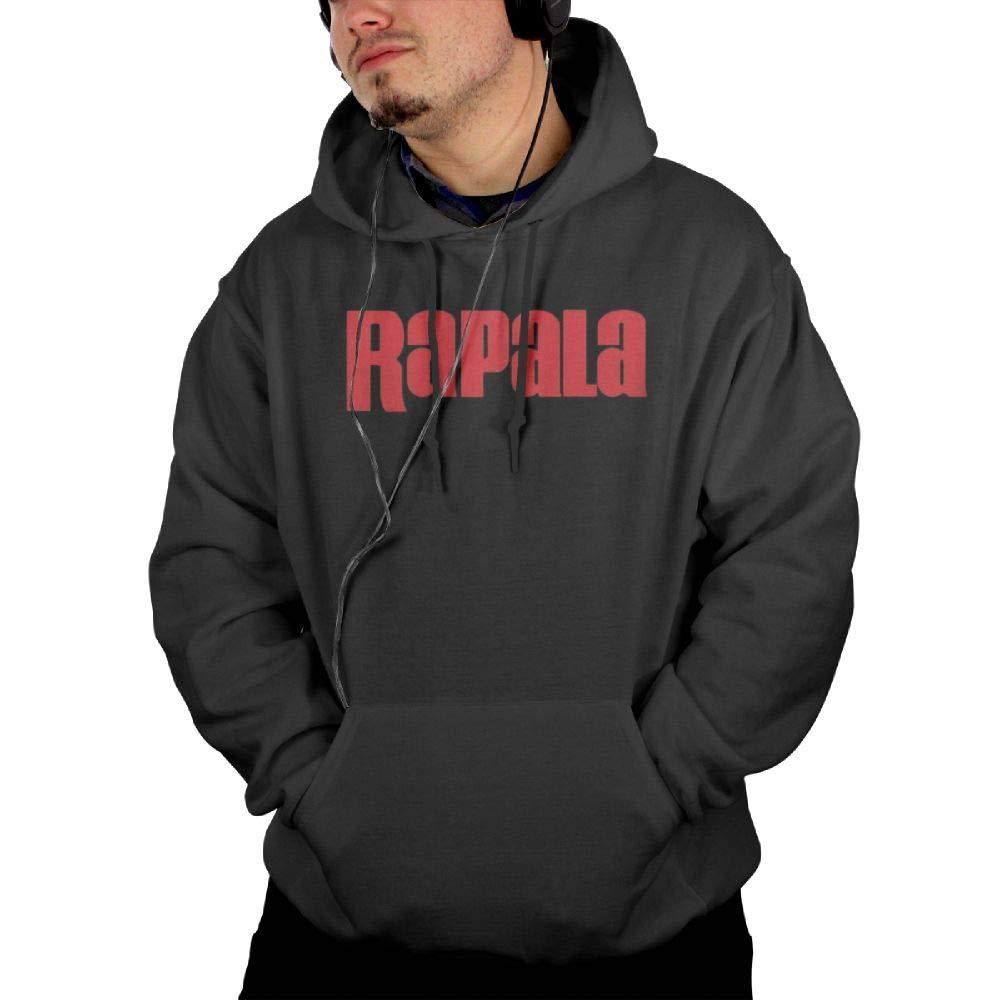 Nixiaolong Mans Rapala Pro Bass Fishing Hooded Sweatshirt