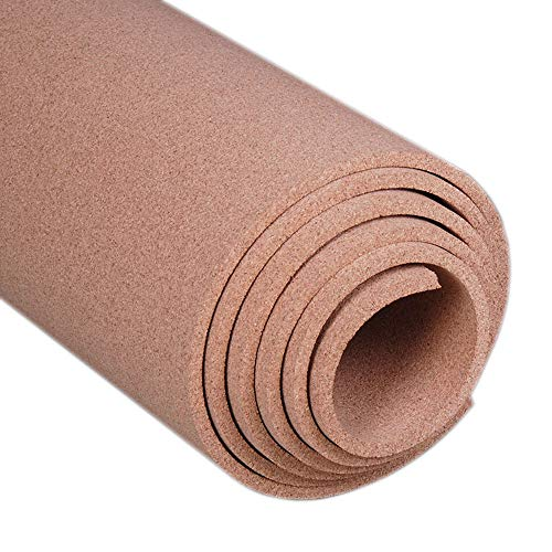 Manton Cork Roll, 100% Natural, 4' x 6' x 1/2