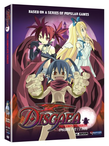 DVD : Disgaea: The Complete Series (Uncut, 2 Disc)
