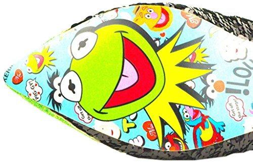 Onregelmatige Keuze Vrouwen Muppets Kermit De Kikker Platte Schoenen - 6 Uk / 8 B (m) Us / 39 M Eu, (groen / Zwart)