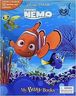 disney pixar finding nemo my busy book phidal publishing inc