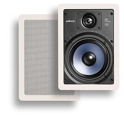 Polk Audio RC65i 2 Way Premium In Wall 6.5u0026quot; Speakers, Pair Of