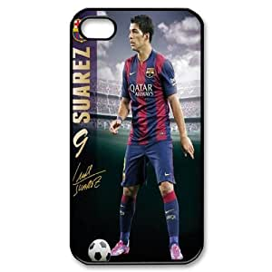 2015 HOT Luis Suarez Cell Phone Case Protective Case 272 For Iphone 4 4S case cover At ERZHOU Tech Store