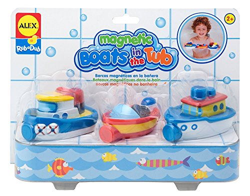 Rub Alex (ALEX Toys Rub a Dub Magnetic Boats in the Tub)