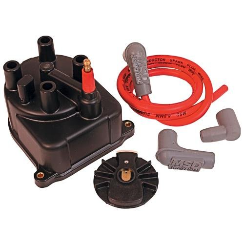 MSD 82923 Modified Distributor Cap and Rotor Kit