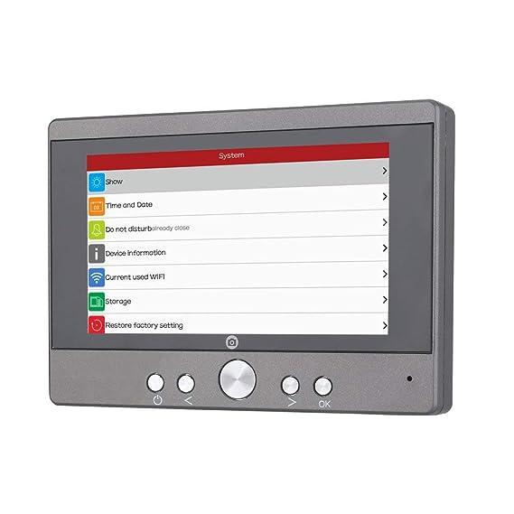 MCJL 720P WiFi inalámbrico Digital Espejo de la Puerta ...