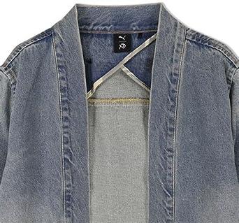 PUMA XO Denim Kimono x The Weeknd Bleached Denim Jacket