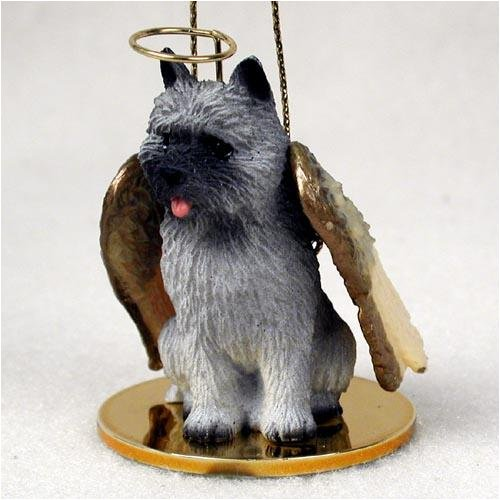 Cairn Terrier, Gray Tiny Ones Dog Angels (2 in)