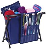 ArtBin Needle Arts Caddy- Yarn Storage for Knitting and Crocheting - Navy, 6933AM