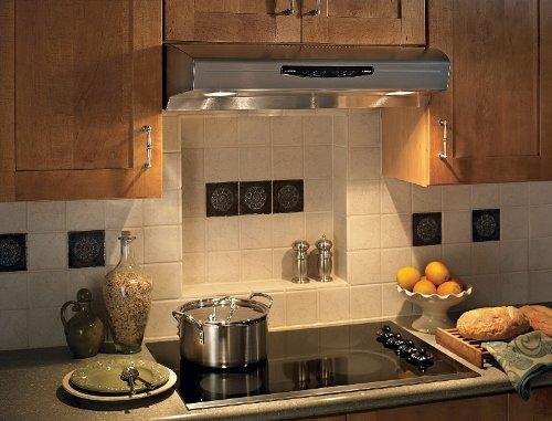 Broan QS242SS Under-Cabinet Range Hood, 42-Inch 300 CFM, Stainless Steel