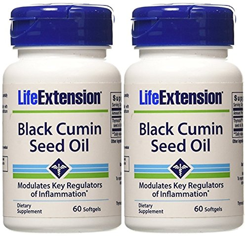 Life Extension Black Cumin Seed Oil, 60 softgels Life Extension (2 ()