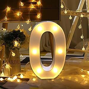 Amazon.com: Alelife - 26 luces de alfabeto en inglés con ...