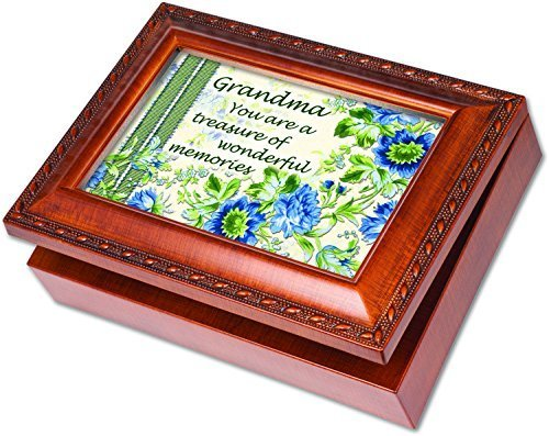 Wings Cottage - Grandma Wonderful Memories Musical Music Jewelry Plays Song Wind Beneath My Wings by Cottage Garden