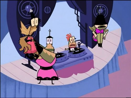 Dancing With My Shell/Around The World in Eighty Pieces (My Life As A Teenage Robot Sheldon)
