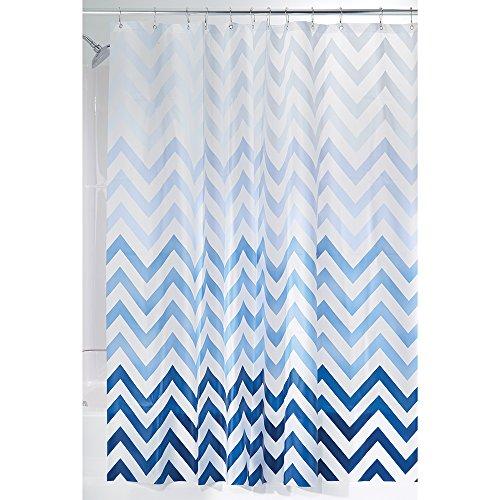 n 4.8 Gauge PEVA Shower Curtain, Mold & Mildew Resistant - 72