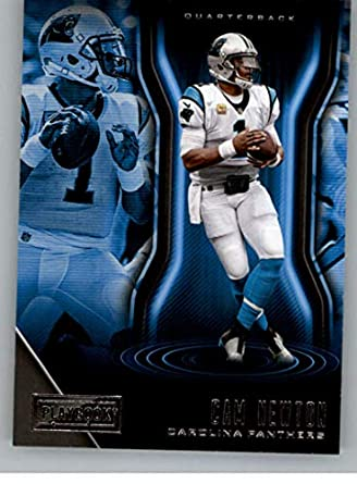 buy online c387f ee8f2 Amazon.com: 2018 Panini Playbook #80 Cam Newton Carolina ...