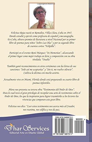Testimonios del Poder de Dios (Spanish Edition): Felicitas ...