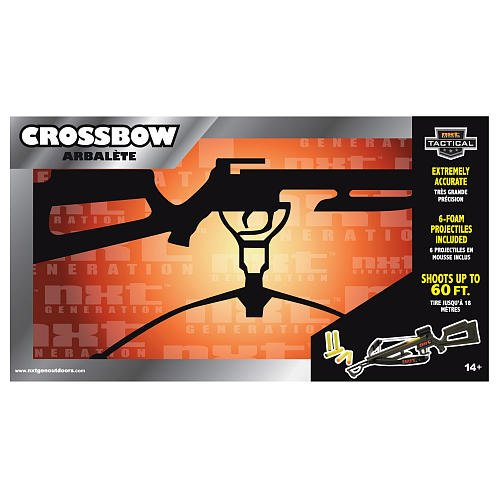 NXT Generation Tactical Crossbow with Six Foam Projectiles