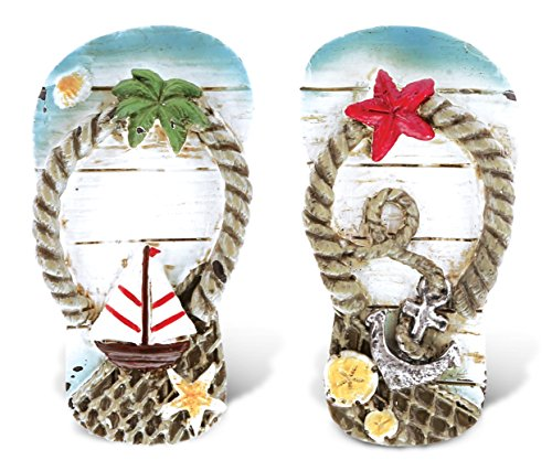 CoTa Global Flip Flops - 3D Designs - Nautical Beach Magnet (2pc Set) - Item #7349