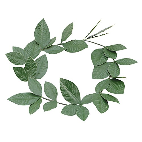 (Bristol Novelty BA480 Green Laurel Leaf Headband, One)
