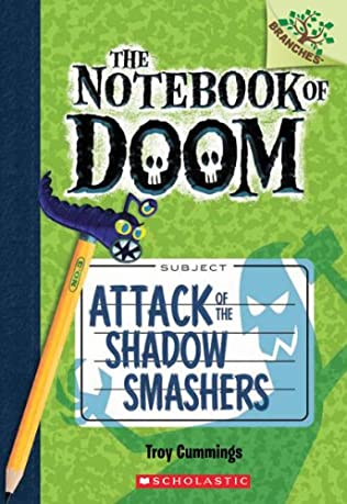 book cover of Attack of the Shadow Smashers