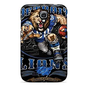 Premium [nbb2990tShs]detroit Lions Case For Galaxy S4- Eco-friendly Packaging