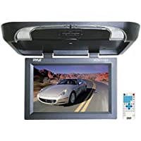 PYLE PLRD175IF 17 Flip Down Monitor w/ Built in DVD/ SD/ USB Player w/ Wireless FM Modulator & IR Transmitter
