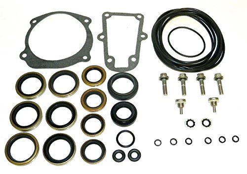 (Johnson Evinrude Lower Unit Seal Kit 150 Hp V-6 1978-2009 WSM 446-108 OEM# 5006373, 439141, 0396353, 0396354, 5000411, 0437752, 0437753, 0438278, 0439141)