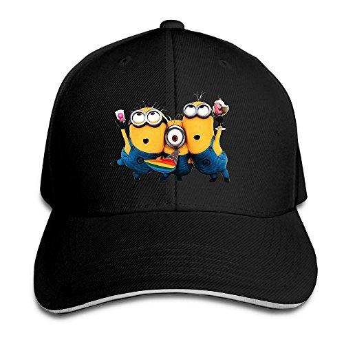 Huajsu MI-nions Adult Athletic Adjustable Baseball Cap Sun (Holloween Minions)