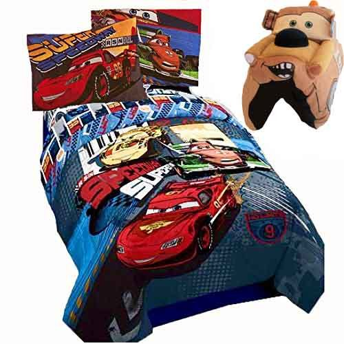 Disney CARS SCREECH 6 Pieces Reversible Full Size Comforter