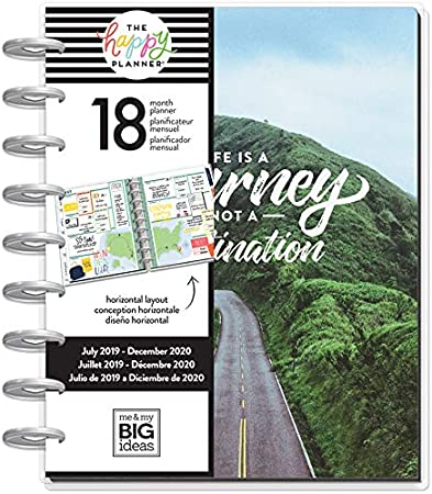 Classic Happy Planner - Wild & Free - 18 Months (July 2019 - December 2020)