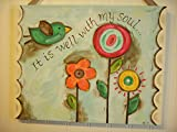 11x14 It Is Well With My Soul Canvas Art Painting