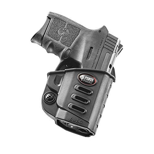 Fobus S&W Bodyguard Evolution Belt Holster, Black, Right