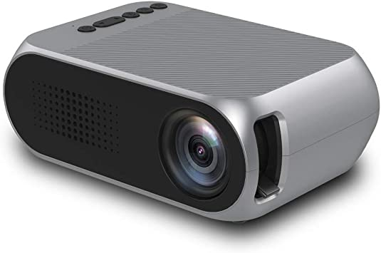 Opinión sobre Led Yg320 Led Projector 600 Lumen 3.5mm Audio 320x240 Pixels Yg-320 Hdmi USB Mini Proyector Home Media Player Silver