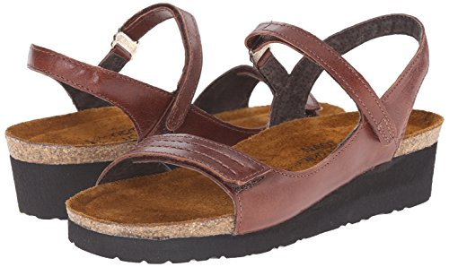 Womens Sandals Brown Madison Luggage Leather Naot pOwWYvUnzW