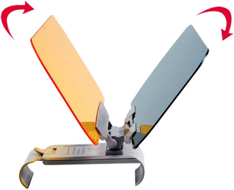 Xmomx 2 in 1 Car Visor Extender Anti-Glare Automobile Windshield Visor Extender Sun Blocker Vision Driving Goggles 2pcs