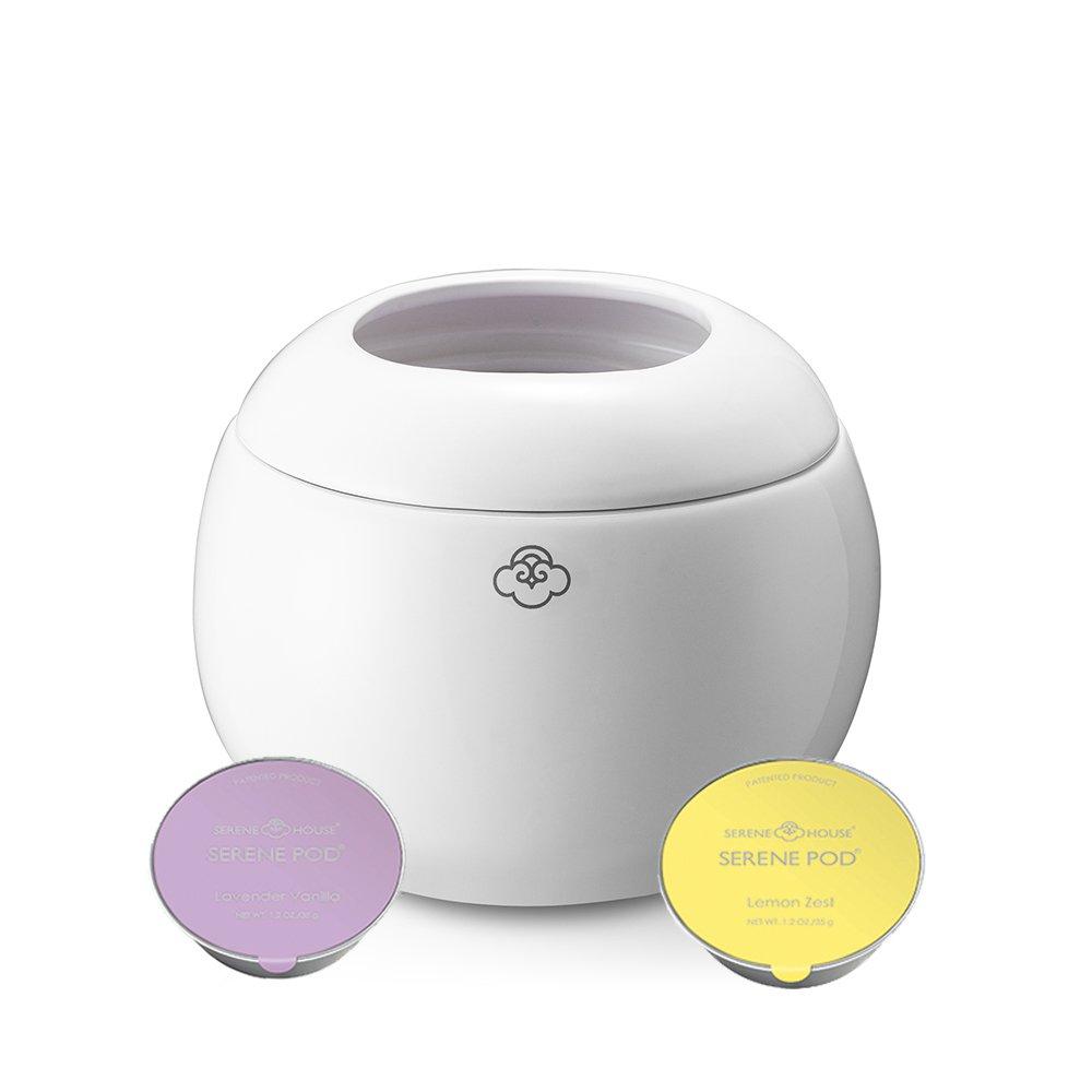 Serene House Magic Jar Pod Wax Warmer- White …