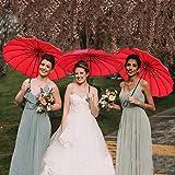 Outgeek Vintage Parasol Umbrella Sunshade Stick